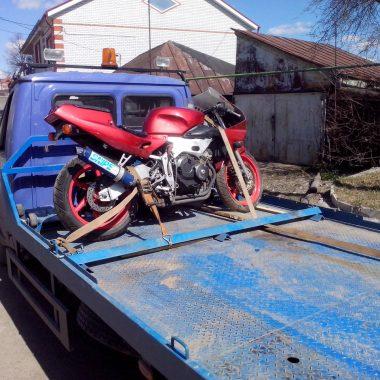 Перевозим мотоцикл